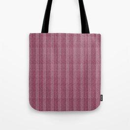 """""""Pink Vertical Lines Wool Texture"""" Tote Bag"""