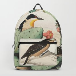 Woodpeckers And Cacti Backpack