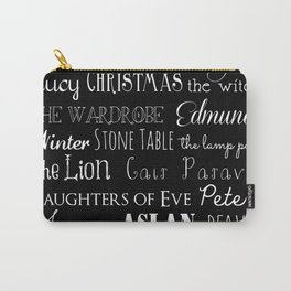 Narnia Celebration - black Carry-All Pouch