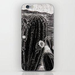 Cactus Beach. iPhone Skin