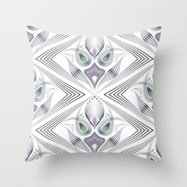 Art Deco 36 . Mystery 2. Throw Pillow