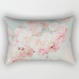 Gypsophila pink blush ll Rectangular Pillow