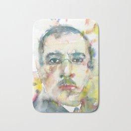 IGOR STRAVINSKY - watercolor portrait.1 Bath Mat