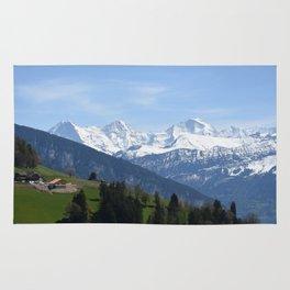 Eiger Bernese Oberland Switzerland Rug