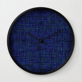 woven colors 2 Wall Clock