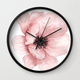 :D Flower Wall Clock