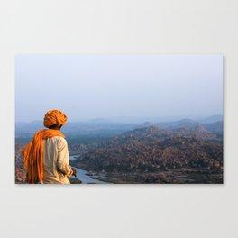 Chai Tea & Vast Landscapes Canvas Print