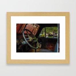 rustic truck Framed Art Print