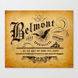 Belmont Pest Control Specialists Canvas Print