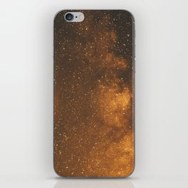The Milky Way (Forest Landscape Photography, Starry Night Sky Photo) iPhone Skin
