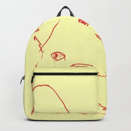 Sketched Frenchie Backpack