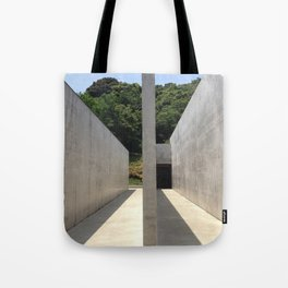 Lee Ufan Museum, Naoshima Island - Ellie Wen Tote Bag