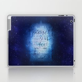 That's who I am   Doctor Who Laptop & iPad Skin
