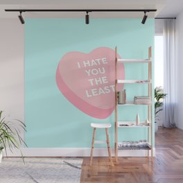 Candy Heart Wall Mural
