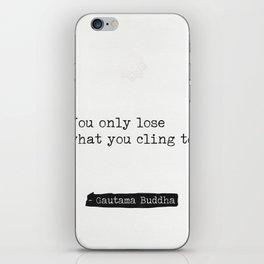 Buddha quote 3 iPhone Skin