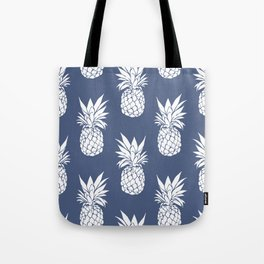 Pineapple Blues Tote Bag