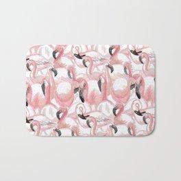 All the Flamingos Bath Mat