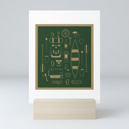 The Camping Collection Mini Art Print