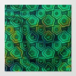 'I Love You Umlaut' Pattern - Endless Lillipads Canvas Print