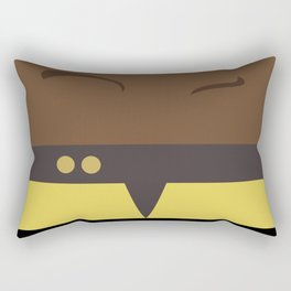 Tuvok - Star Trek Voyager VOY - Minimalist startrek Trektangle Trektangles Maquis - Delta Quadrant Rectangular Pillow