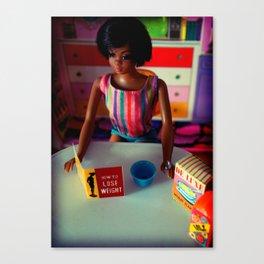 My First Diet, 1969 Canvas Print