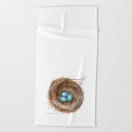 Life is Fragile by Teresa Thompson Beach Towel