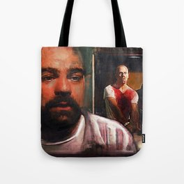 Escape From Sodom - Butch And Zed - Pulp Fiction Tote Bag
