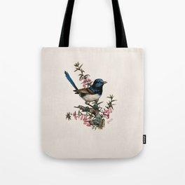 Australian Blue Wren Tote Bag