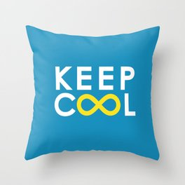 Forever coolness Throw Pillow
