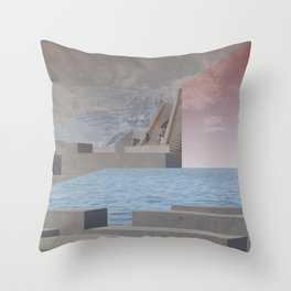 atmosphere 29 · Eternity Beton Memories Throw Pillow