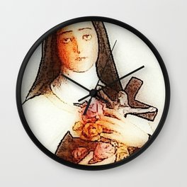 Saint Wall Clock
