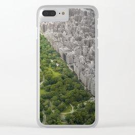 Man vs. Wild Clear iPhone Case