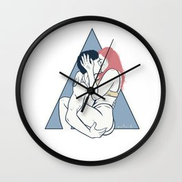 On a Point Wall Clock