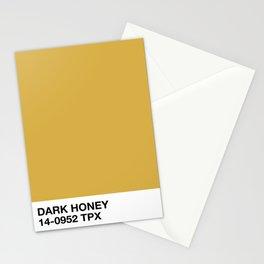 dark honey Stationery Cards