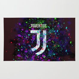 Watercolor Juventus Rug
