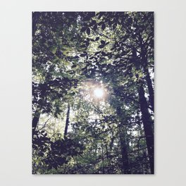 I'm Going To The Place You Don't Know Canvas Print