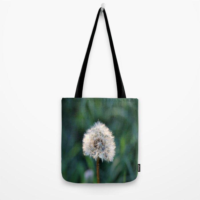 Sunset Dandelion Tote Bag