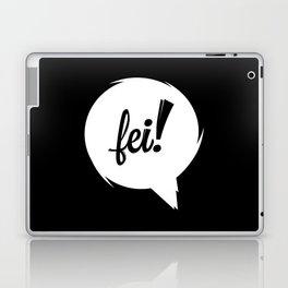 FEI wht cutout Laptop & iPad Skin