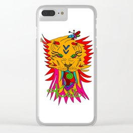 wizard lion Clear iPhone Case