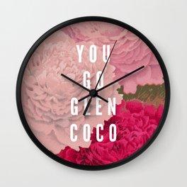 You Go Glen Coco Wall Clock