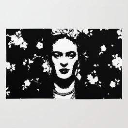 Black 'n white Frida Rug