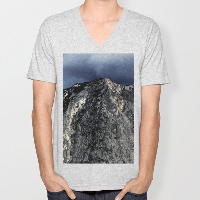 """Unbreakable """"Der Loser"""" #1 #Mountain #art #society6 Unisex V-Neck"""