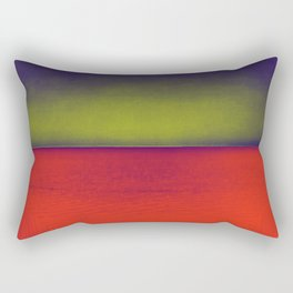 gradient horizon Rectangular Pillow