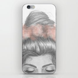 Sinking thoughts iPhone Skin