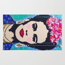 Frida Kahlo by Paola Gonzalez Rug