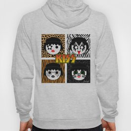 KISS MOBIL / Dynasty - Metal - Creatures of the night - Digital Ilustration - pop art Hoody