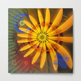 Sunflower joy Metal Print