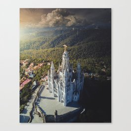 Temple of the Sacred Heart of Jesus Canvas Print