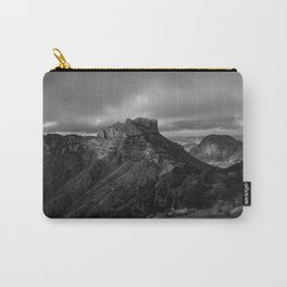 Top of Lost Mine Trail Mountaintop View, Big Bend - Landscape Photography Carry-All Pouch
