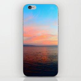 ocean sunset iPhone Skin